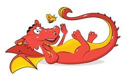 дракон весёлый Стоковое Изображение