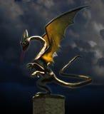 Дракон ночи Стоковое Фото