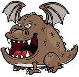 Дракон шаржа Стоковое Изображение