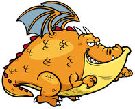 Дракон шаржа Стоковое фото RF