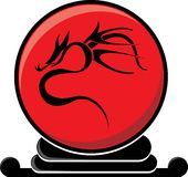дракон шарика соплеменный Стоковые Фото