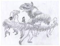дракон 6 Стоковая Фотография RF