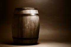 древесина бочонка старая Стоковое Изображение