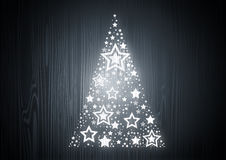 древесина вала дуба рождества Стоковое Изображение RF