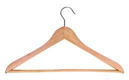 древесина вешалки Стоковое Фото
