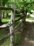 древесина загородки Стоковые Фото