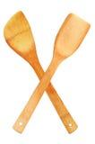 древесина ложки Стоковая Фотография RF