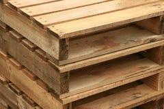 древесина паллета Стоковая Фотография RF