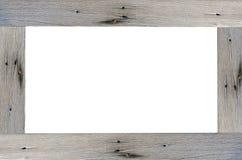 древесина рамки Стоковая Фотография