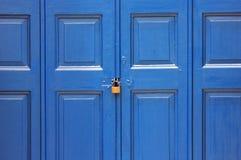 древесина сбора винограда двери Стоковые Фотографии RF