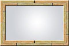 древесина фото рамки Стоковые Фотографии RF