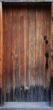 древесина двери старая Стоковое Изображение RF