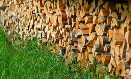 древесины пожара Стоковые Фото