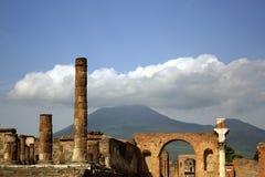 Древний город Помпеи Стоковое Изображение