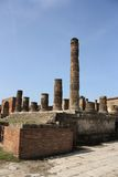 Древний город Помпеи Стоковые Изображения