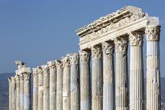 Древний город Laodikya в Denizli, Турции Стоковые Изображения