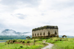 Древний храм Muang Badan (подводное) Стоковая Фотография RF