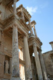 Древняя стена от руин Ephesus Стоковые Изображения RF