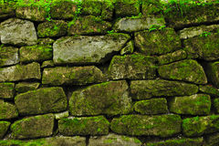Древняя стена сделанная камней Стоковые Фотографии RF