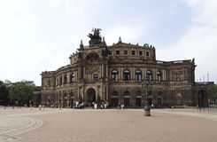 Дрезден в Саксонии Стоковое Изображение RF