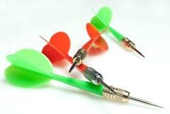 дротики стрелки Стоковое фото RF