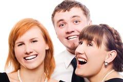 друзья счастливые Стоковое Изображение RF