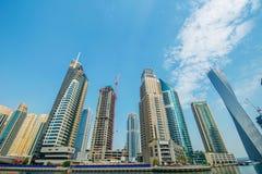 Дубай - 9-ое августа 2014 Стоковое Изображение