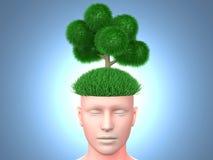 Думайте зеленый цвет Стоковые Фотографии RF