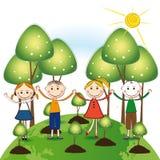 Думайте зеленый цвет Стоковое Фото
