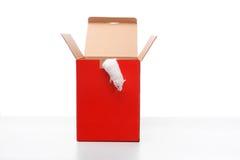 думать коробки внешний Стоковые Изображения