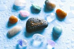 душа gemstones Стоковые Фото