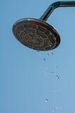 Душ с падениями воды Стоковая Фотография RF