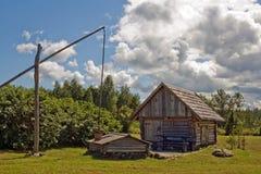 дым sauna Стоковое фото RF
