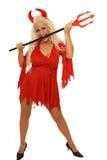 Дьявол женщины Стоковое Фото