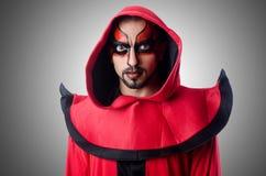 Дьявол человека Стоковые Изображения RF
