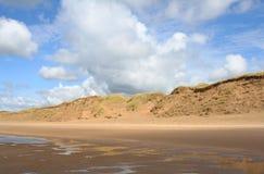 дюны нидерландские Стоковые Изображения RF