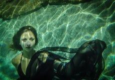 水下的秀丽 免版税图库摄影