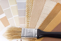 维修服务和装饰计划 免版税库存照片