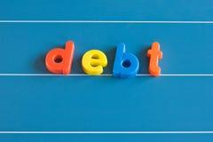 负债 免版税库存照片
