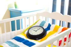 婴儿床 库存照片