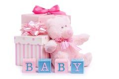 婴儿送礼会 免版税库存图片