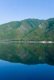 贝加尔湖安静 库存照片
