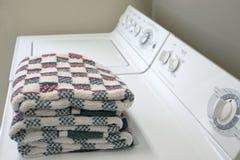 更加干燥的洗衣机 库存照片