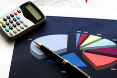 财务工具 免版税图库摄影