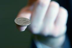 财务平衡的商业 免版税库存照片