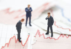 财务的危机 免版税图库摄影