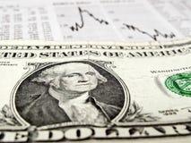 财务的危机 库存图片