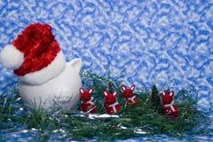 财务的圣诞节 库存图片