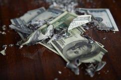 财务的失败 库存照片