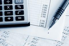 财务的平衡 免版税库存图片